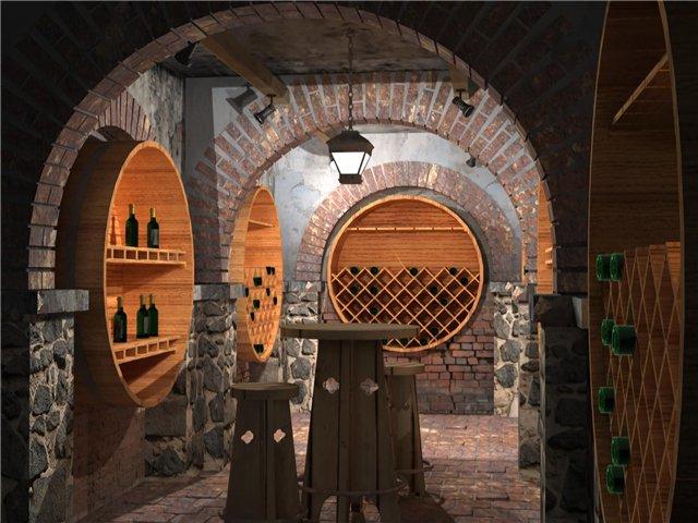 Подвал в частном доме - кто-то хранит картошку, а кто-то - коллекционные вина