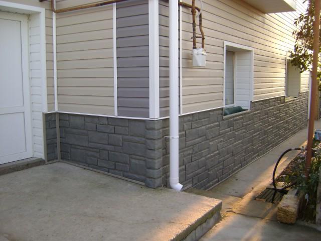 Плита для отделки фасадов домов