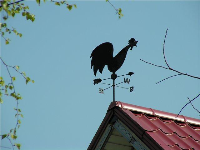 Флюгер на крыше