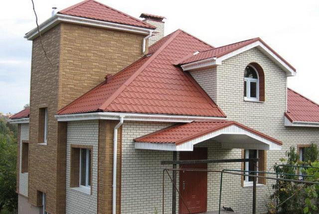 Сайдинг для фасада дома цоколь
