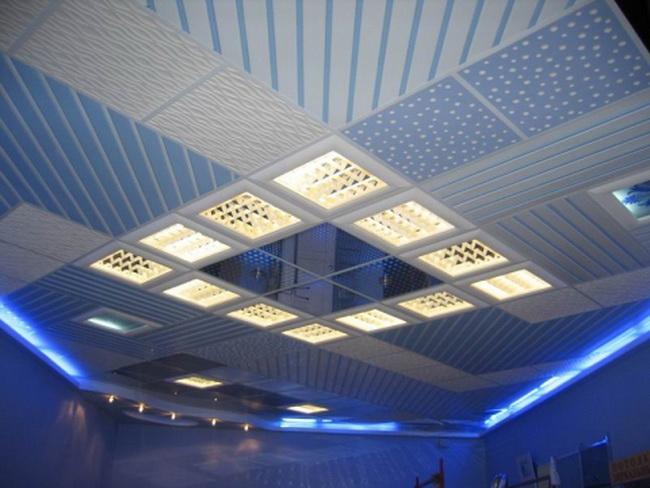 Красивый потолок А