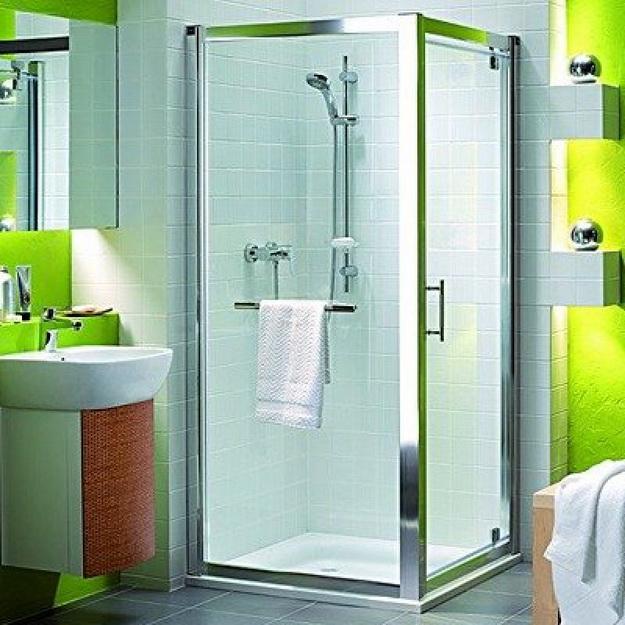 12 Интерьер ванной комнаты с кабиной 7