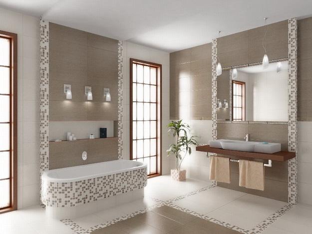 Дизайн интерьера ванной комнаты фото 10