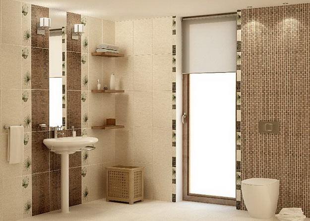 Дизайн интерьера ванной комнаты фото А