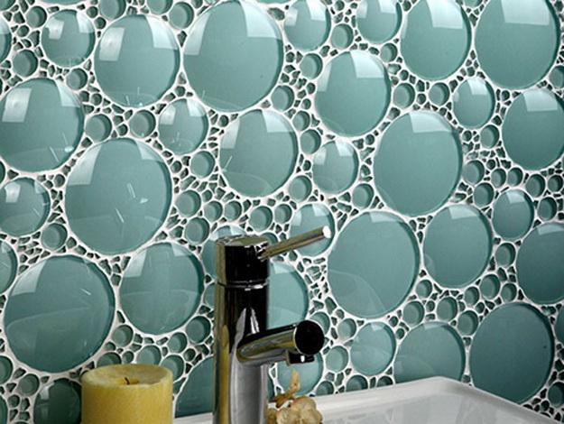 Дизайн интерьера ванной комнаты стекло 1