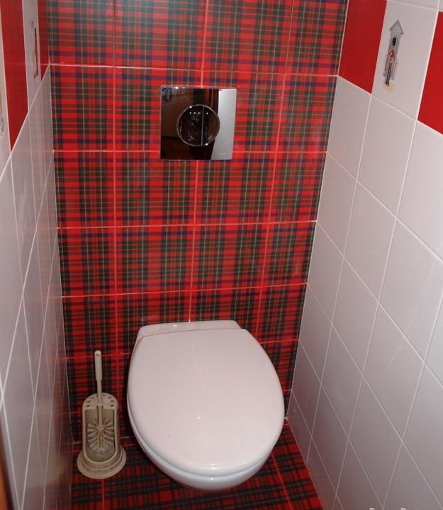 Дизайн туалета в панельном доме раздельный вариант