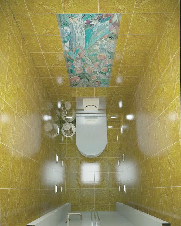 Дизайн раздельного туалета