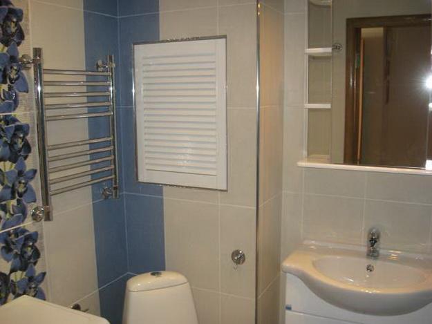 Дизайн ванной комнаты в панельном доме-фото