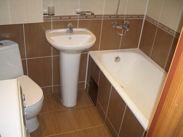 Дизайн туалета в панельном доме 5