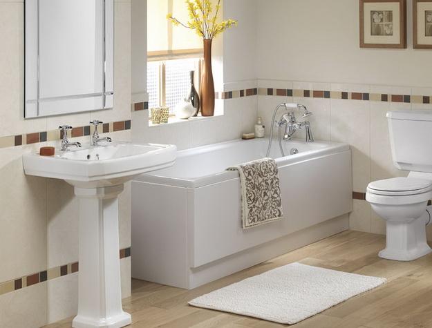 Дизайн ванной в панельном доме АА
