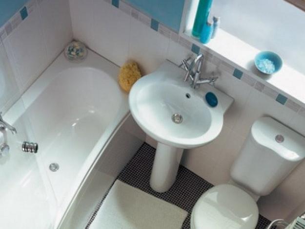 Интерьер маленькой ванной комнаты фото 7