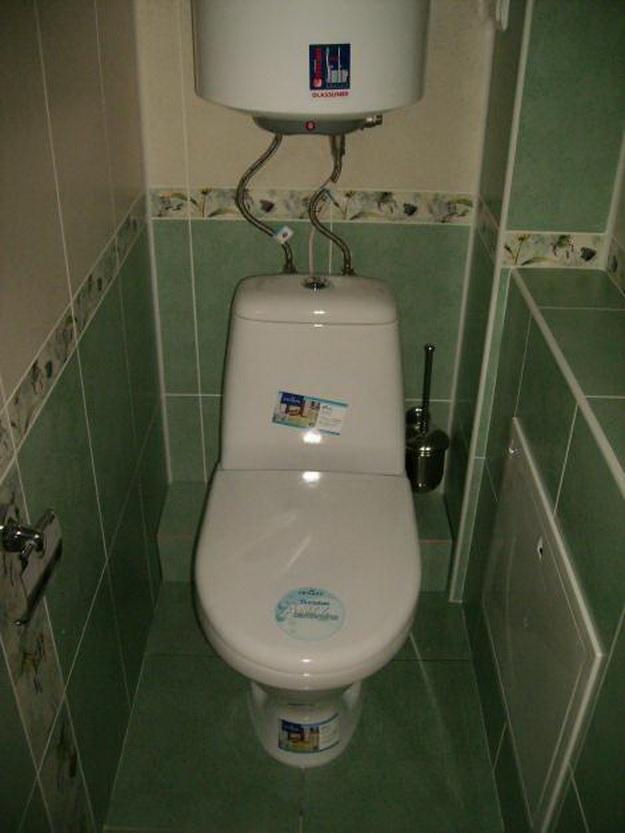 Туалет в панельном доме 2