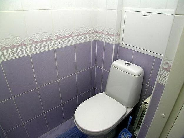 Туалет в панельном доме 3