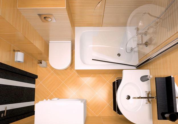 Ванная комната в хрущевке 8