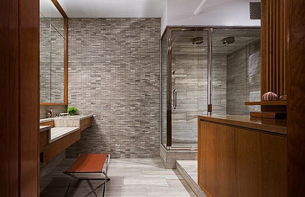Дизайн туалета в кирпичном доме 3