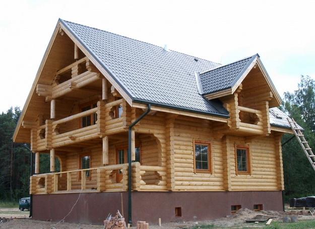 Дома из оцилиндрованного бревна фото 15