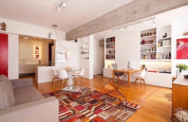 Когда гостиная и кухня вместе – фото удачных вариантов 4