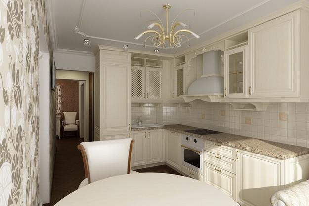 Идет ли современной кухне классический дизайн 2