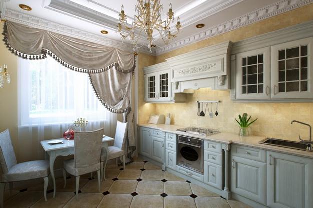 Идет ли современной кухне классический дизайн 4