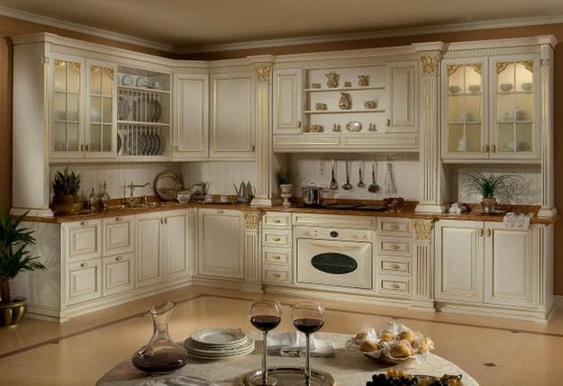Идет ли современной кухне классический дизайн 5