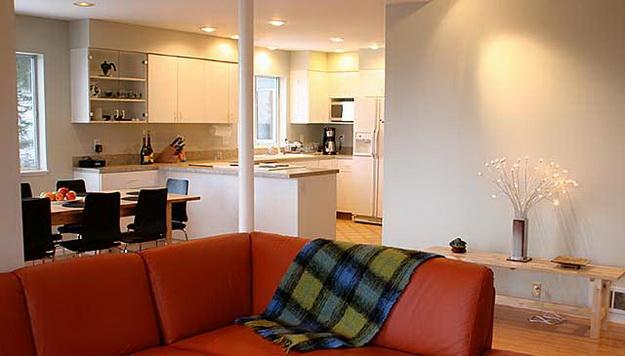 Маленькая гостиная кухня в хрущевке – эффективный дизайн 7