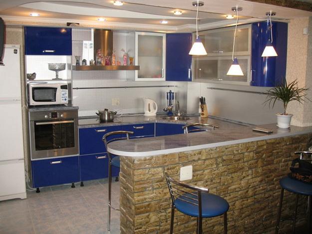 Маленькая гостиная кухня в хрущевке – эффективный дизайн 8