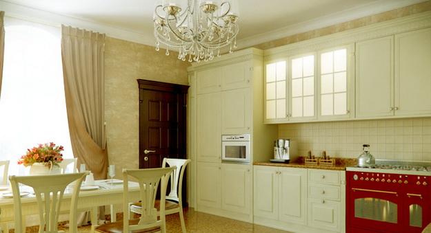 Современная кухня – дизайн в классическом стиле 7