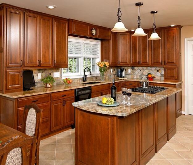 Современная кухня – дизайн в классическом стиле 8
