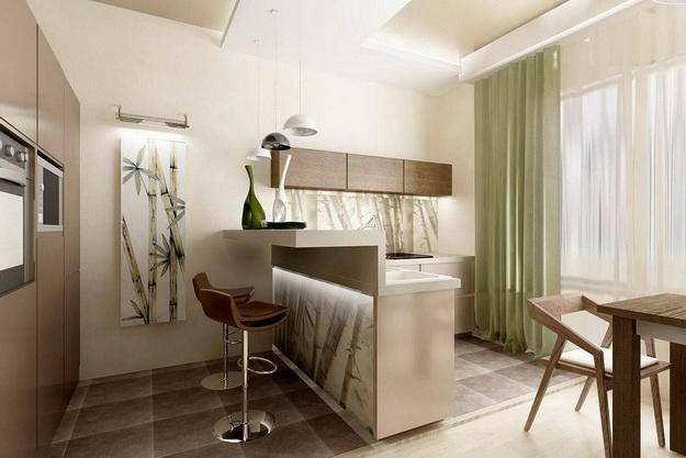 Находки дизайна – кухня и столовая в одном помещении 4