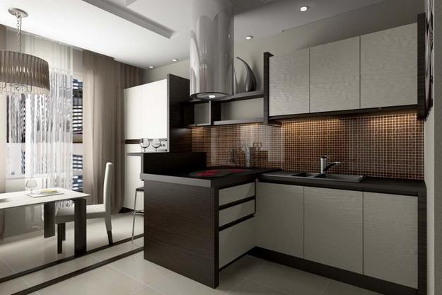 Находки дизайна – кухня и столовая в одном помещении 5