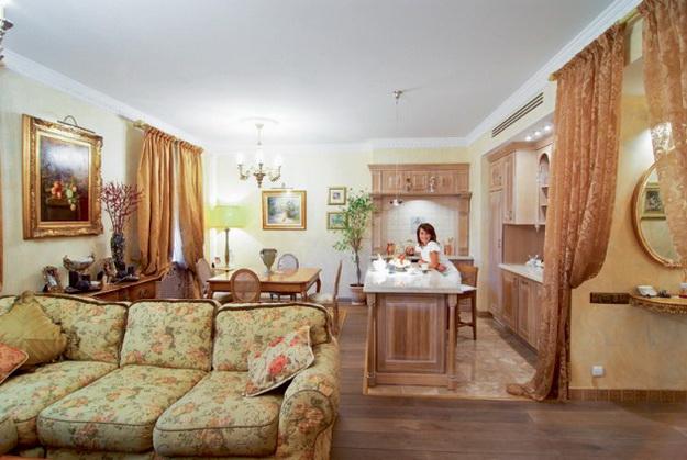 Находки дизайна – кухня и столовая в одном помещении 7