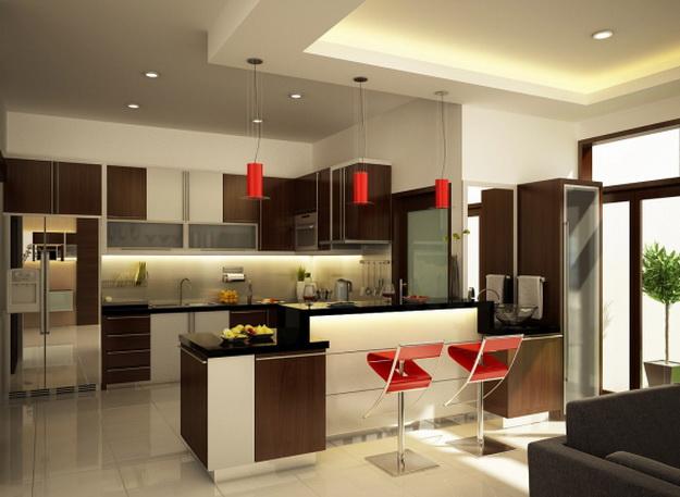 Находки дизайна – кухня и столовая в одном помещении 8