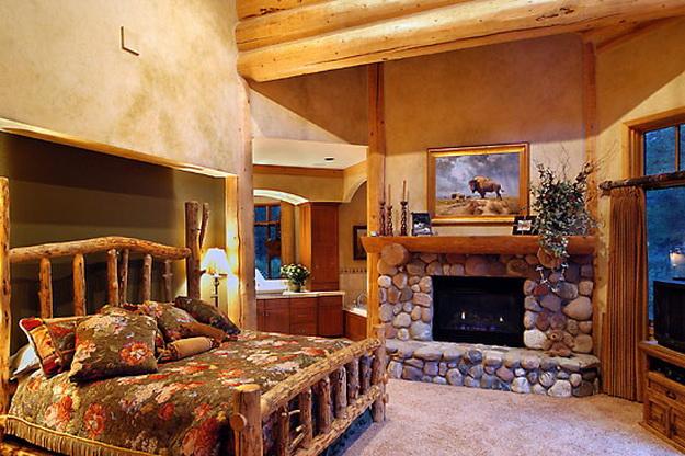 Дизайн деревянного дома – фотогалерея интерьеров 2