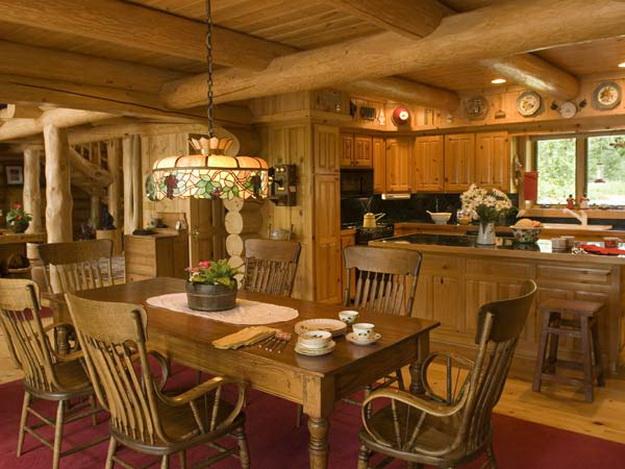 Дизайн деревянного дома – фотогалерея интерьеров 3