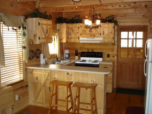 Дизайн деревянного дома – фотогалерея интерьеров 8