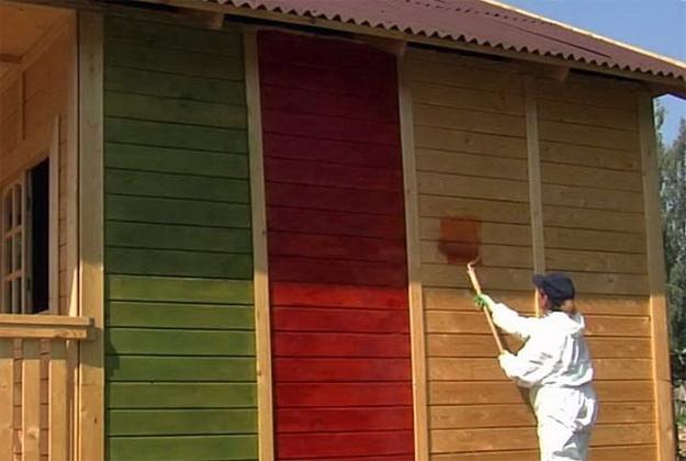 Чем красить деревянный дом снаружи - лучшая фасадная краска для деревянного дома 4