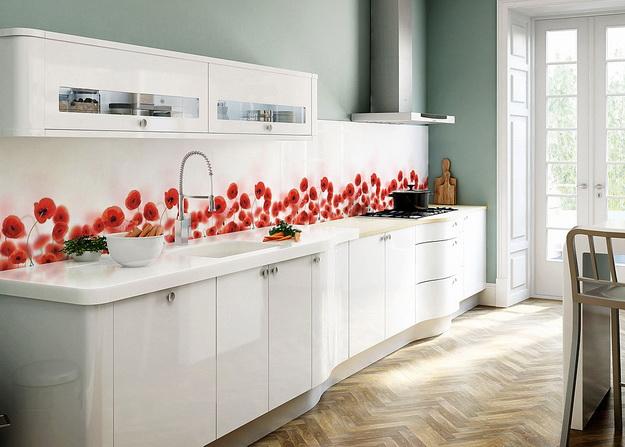 Кухонный фартук из ПВХ панелей - планируем дизайн современной кухни 1
