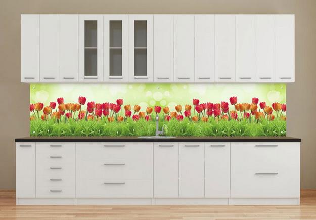 Кухонный фартук из ПВХ панелей - планируем дизайн современной кухни 3