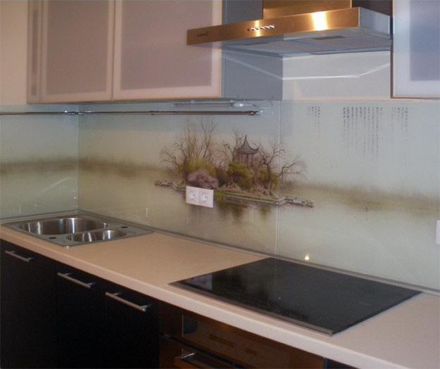 Кухонный фартук из ПВХ панелей - планируем дизайн современной кухни 5