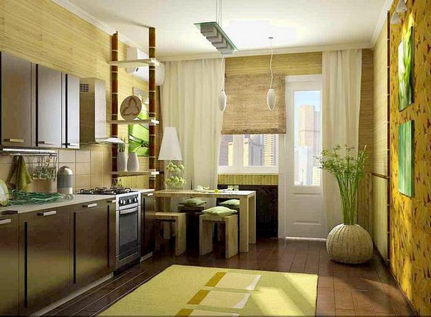 Используем панели стеновые бамбуковые в интерьере квартиры и дома 8
