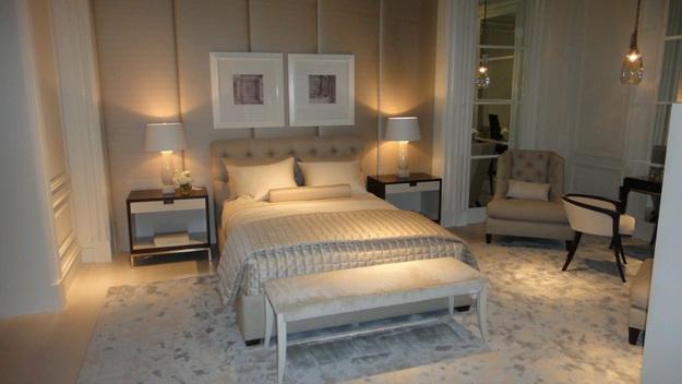 Оригинальные мягкие стеновые панели для спальни - варианты и дизайн 1