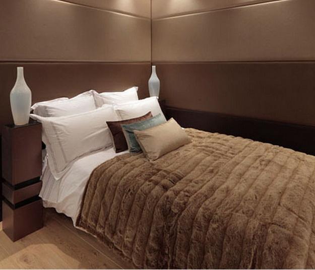 Оригинальные мягкие стеновые панели для спальни - варианты и дизайн 6