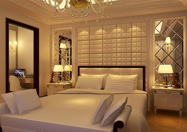 Оригинальные мягкие стеновые панели для спальни - варианты и дизайн 7