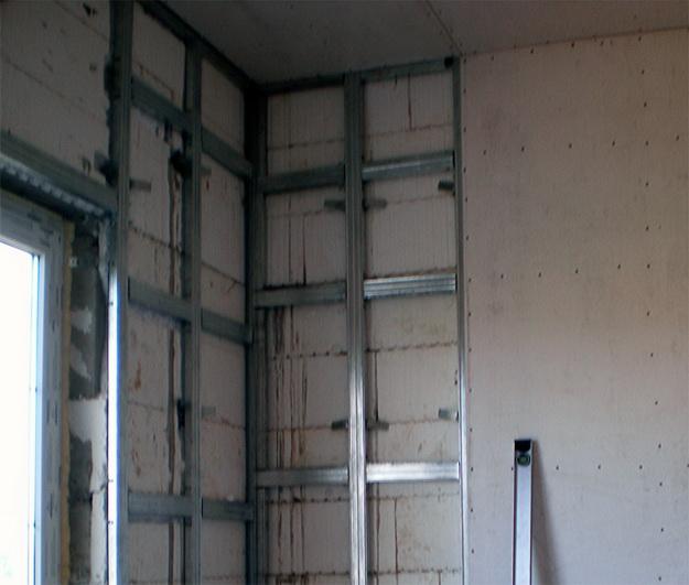 Обшиваем стены гипсокартоном своими руками - делаем ремонт 1