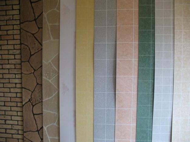 Стеновые панели ПВХ под плитку в дизайне современного санузла 2