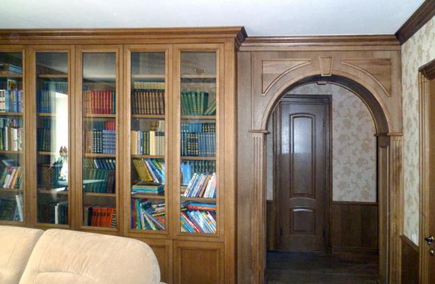 Стеновые панели из дерева в интерьере частного дома - варианты и дизайн 6