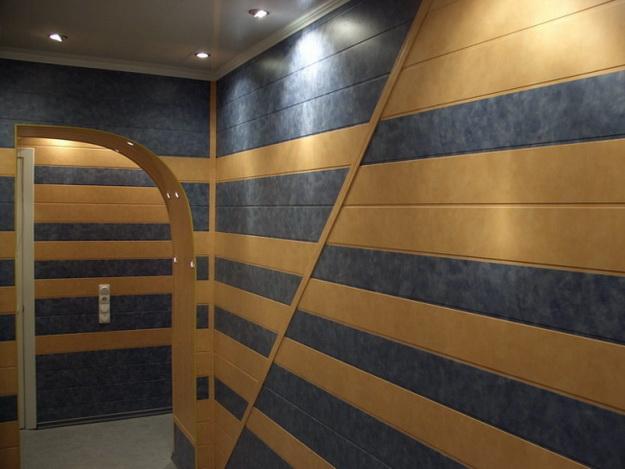 Интересная обшивка стен МДФ панелями – варианты дизайна 1