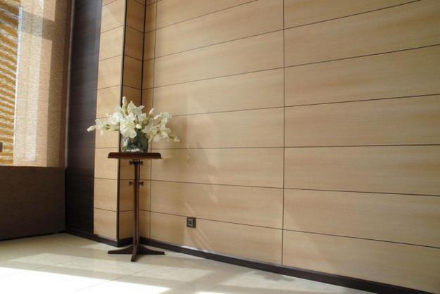 Интересная обшивка стен МДФ панелями – варианты дизайна 2
