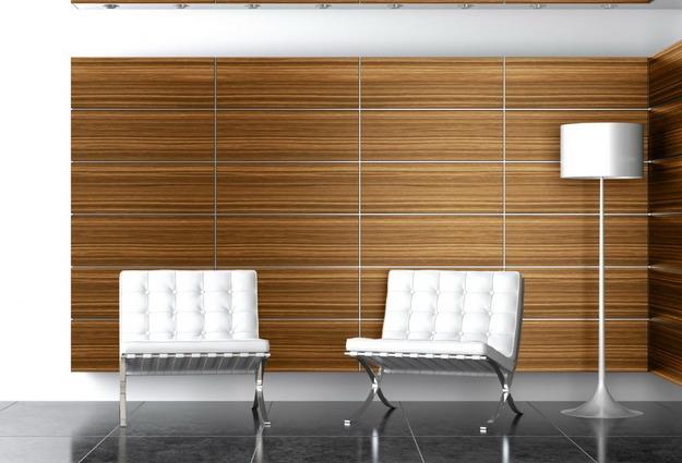 Интересная обшивка стен МДФ панелями – варианты дизайна 3