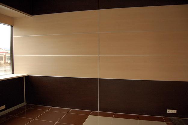 Интересная обшивка стен МДФ панелями – варианты дизайна 4
